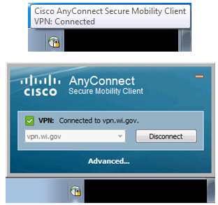 Helpdesk Cisco Anyconnect VPN documentation